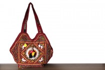 Grand sac à main pour les cours style ethnique