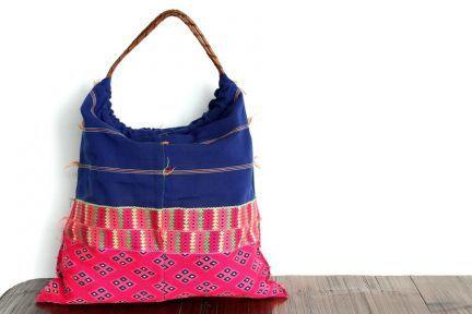 Maxi grand sac à main pour les cours style  ethnique d'asie