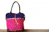 Grand sac à main femme en cuir souple et coloré