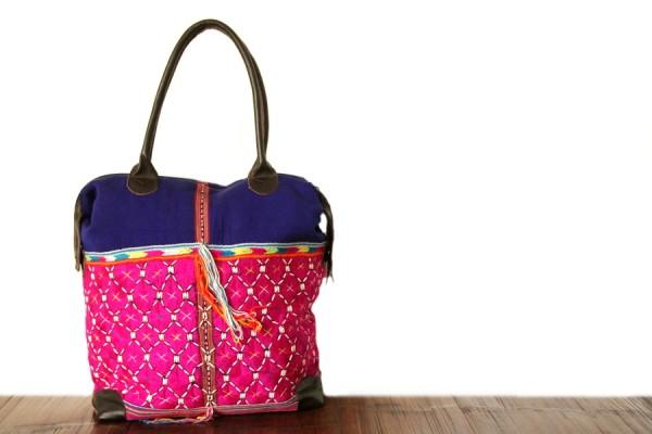 Grand sac à main femme en cuir