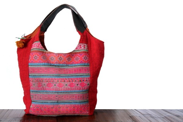 Grand sac à main coloré et original