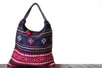 Beau sac ethnique artisanal