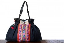 Sac à main tribal fait main