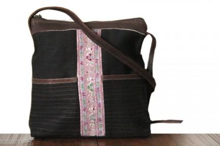 Petit sac bandoulière noir pas cher