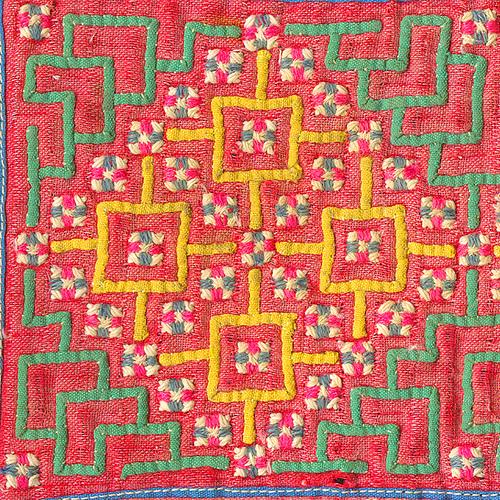 Costume de l'éthnie Hmong utilisés pour faire de très joli sac