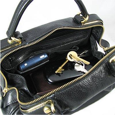 rangement d'un sac à main