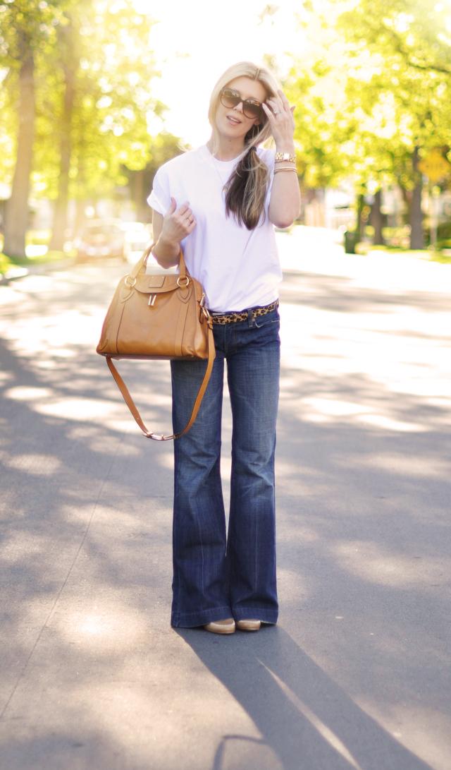 sac à main avec un jean