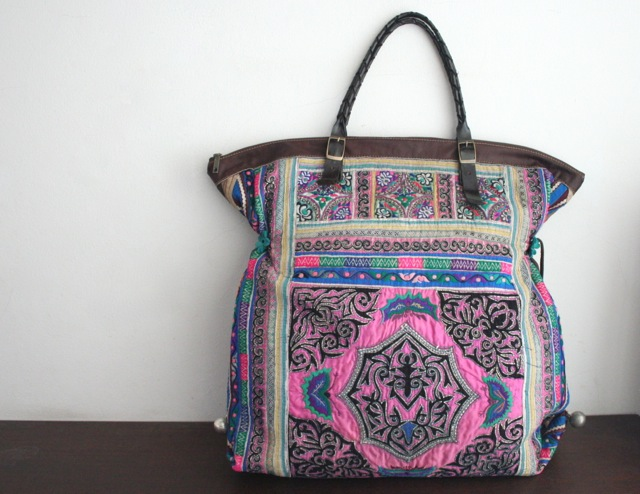 Un grand sac ethnique