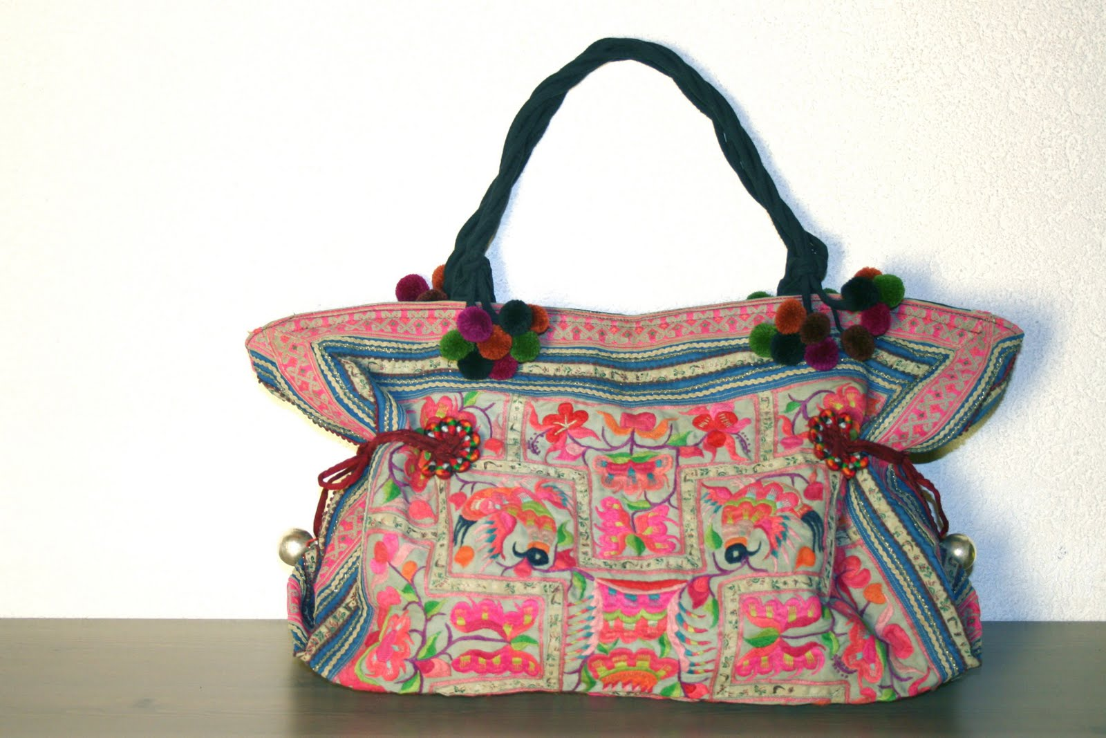 Sac main ethnique Style baba cool chic