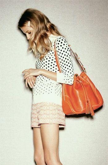 porter assortir sac orange