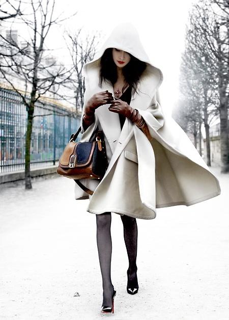 sac avec manteau