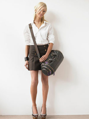 sac avec tailleur