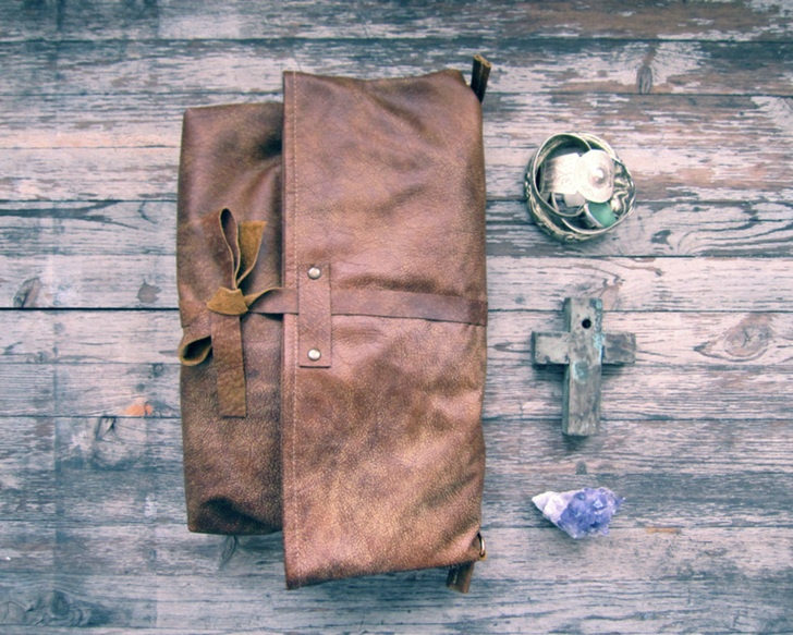 fabriquer sac cuir
