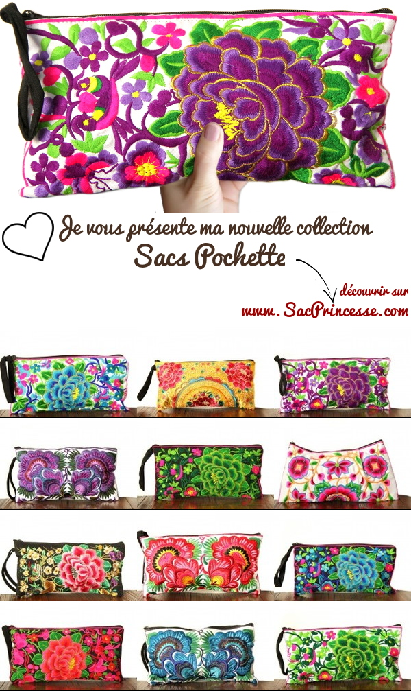 nouvelle collection sac pochette