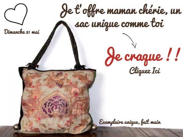acheter sac ethnique comme cadeau pour maman