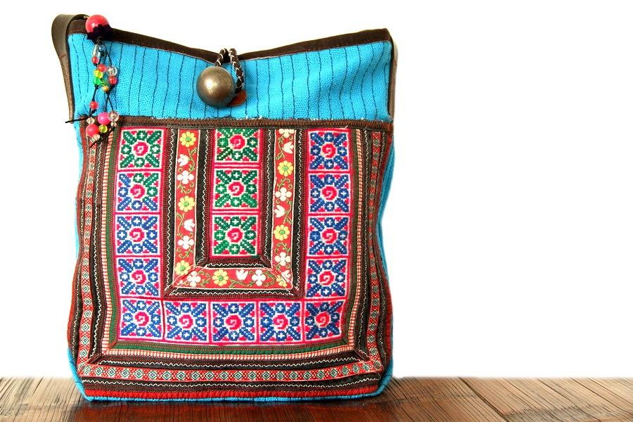 Sac bandoulière original - sac forme bourse