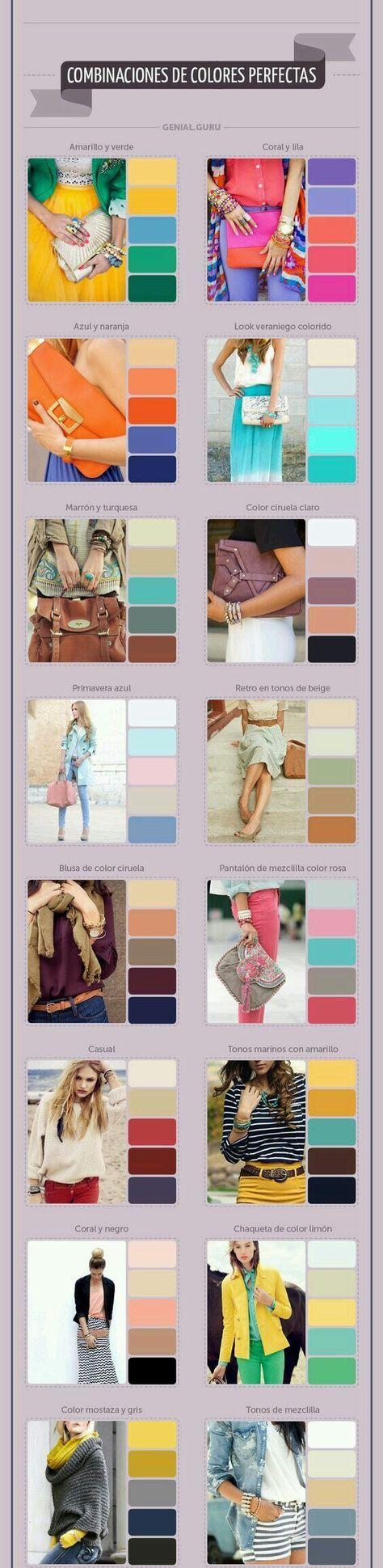 associer les couleurs ensemble