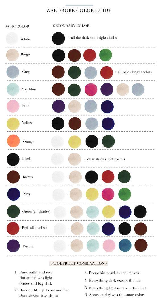 comment associer couleur ensemble