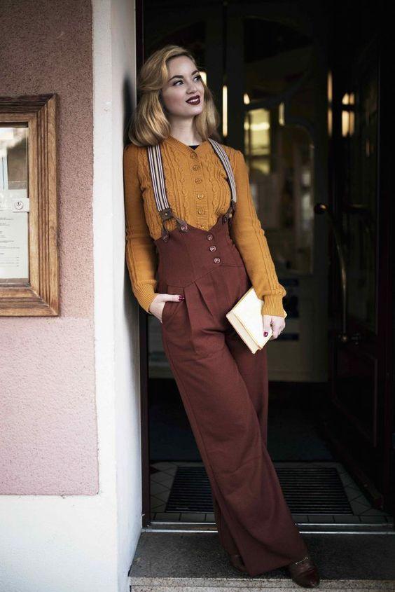 Comment s\u0027habiller vintage ? mode vintage femme